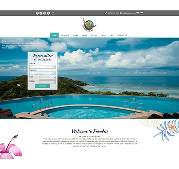 Portfolio Web Design by Cmnice